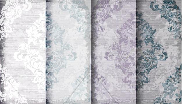 빈티지 바로크 패턴 컬렉션