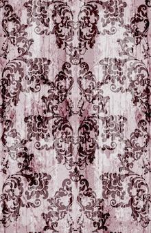 Vintage baroque pattern decoration