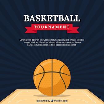 Basket vintage torneo di sfondo