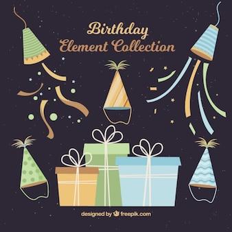 Vintage birthday decoration