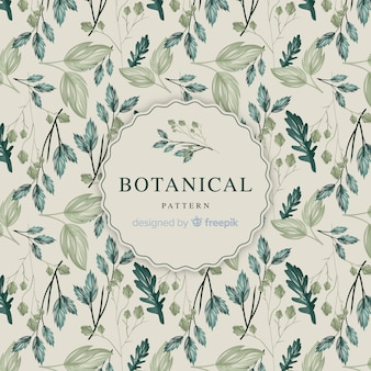 Vintage botanical pattern
