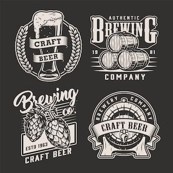 Винтажные пивоваренные значки