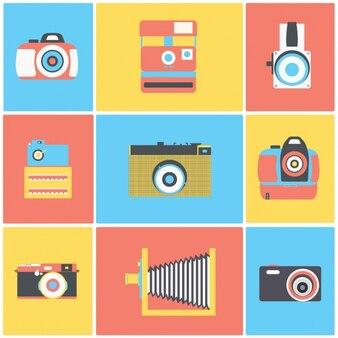 Raccolta macchine fotografiche d'epoca