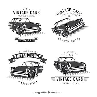 ヴィンテージカーロゴコレクション