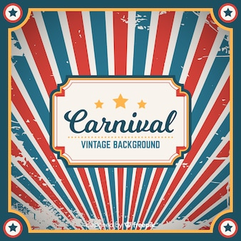 Vintage carnival background