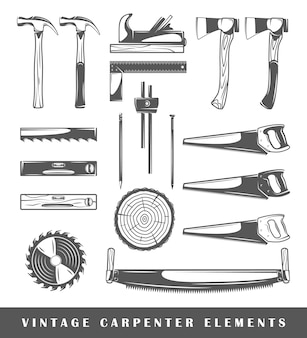Винтажные элементы плотника