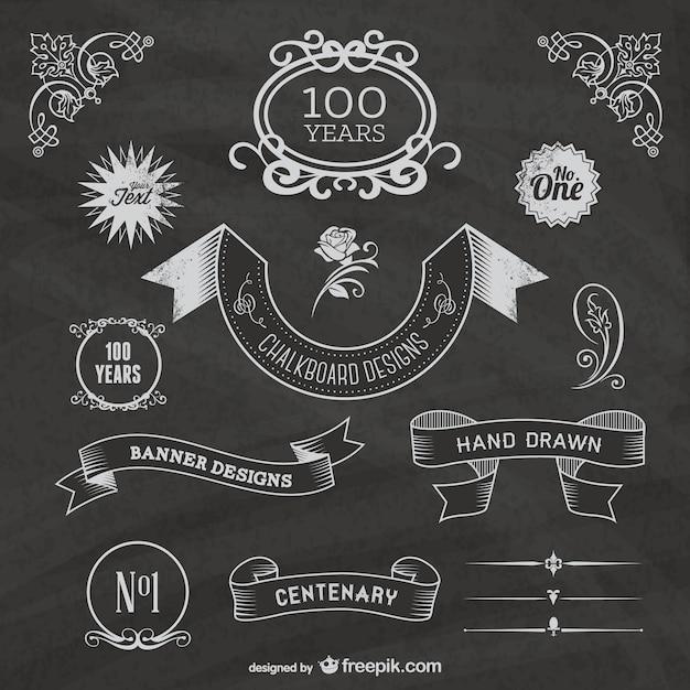 chalkboard layouts