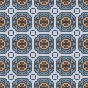 ヴィンテージ中国の伝統的なパターン