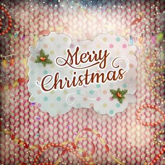 ビンテージクリスマスカード。