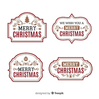 christmas sticker vectors photos and psd files free download