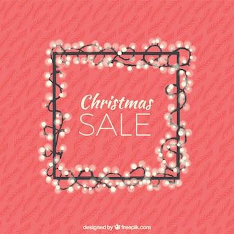 Vintage christmas sale background