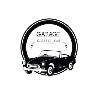 Vintage classic car logo