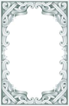 Винтажная рамка в стиле барокко рококо.