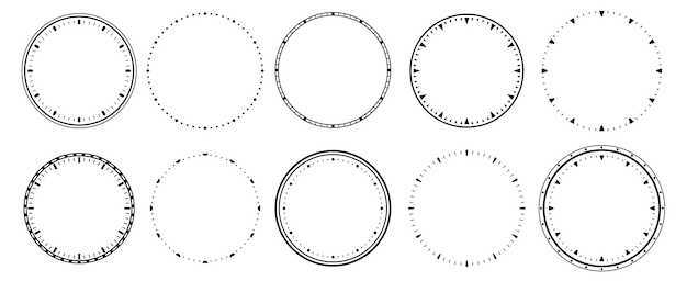 Винтажные часы безель, секундомер и круглая шкала на 12 часов.