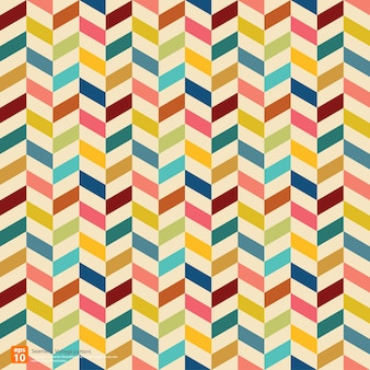 Vintage colorful pattern