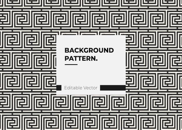 Винтажный декоративный элемент шаблона дизайна линии
