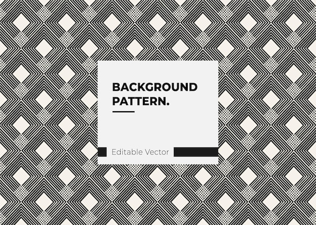 Vintage decoration line pattern