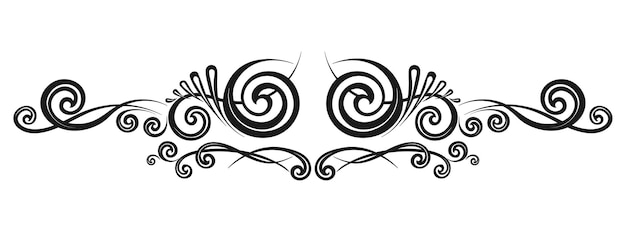 Винтажная декоративная каллиграфическая рамка шаблон вывесок, логотипов, этикеток, наклеек, карт