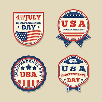 Vintage design 4th of july event