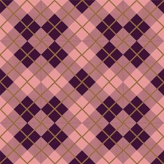 빈티지 다이아몬드 체크 패턴
