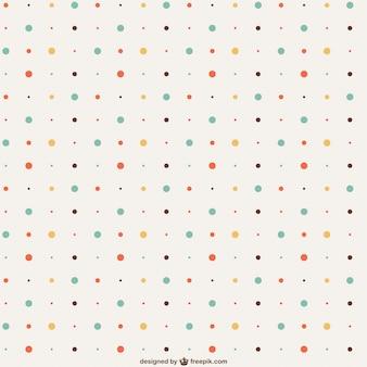 Vintage dots pattern