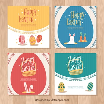 Vintage easter day card collection