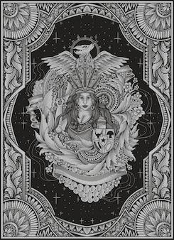 Стиль орнамента старинные пять чисел