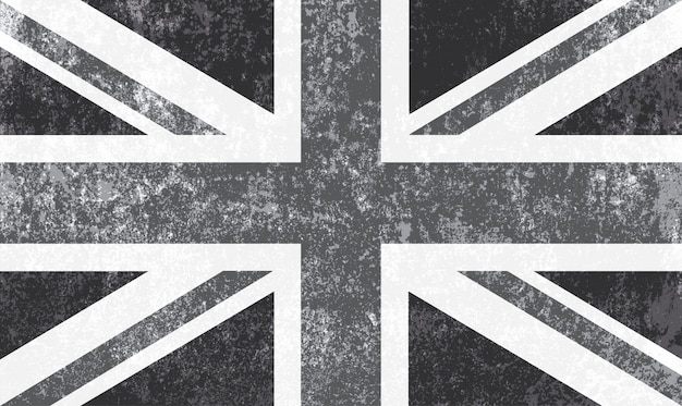 영국의 빈티지 깃발