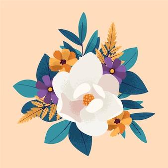 ヴィンテージの花の花束