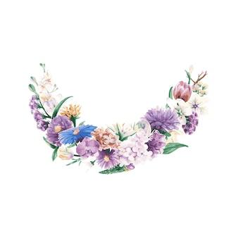 빈티지 꽃 장식품