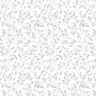 Vintage floral pattern, floral seamless pattern.