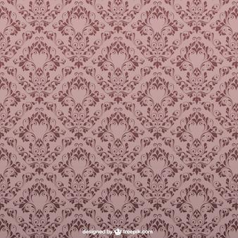 Vintage floral pattern seamless design Free Vector