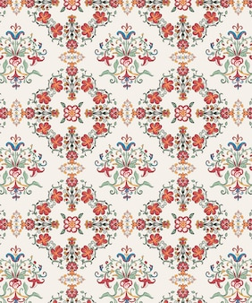 Vintage flourish patterns
