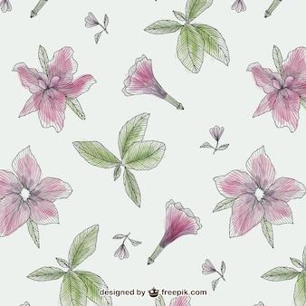 ヴィンテージの花パターン