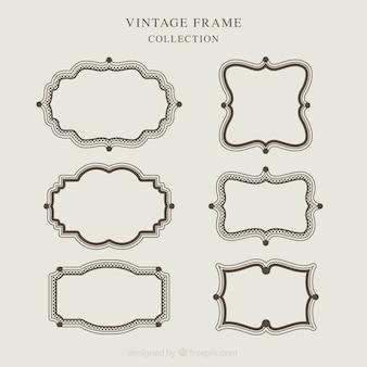 Vintage frame collection