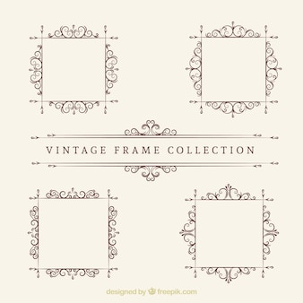 Vintage frame collection