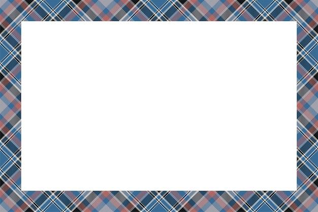 빈티지 프레임. 스코틀랜드 국경 복고 스타일.