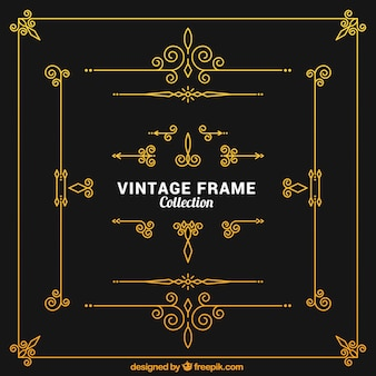 Vintage frames collection