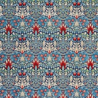 Vintage fritillary flower pattern