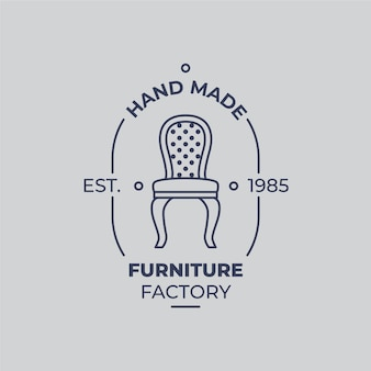 Vintage furniture logo