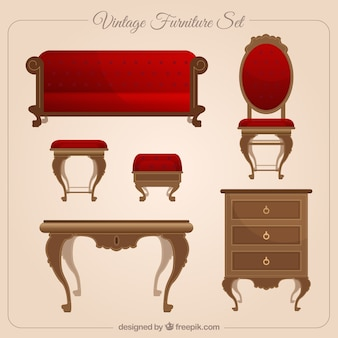 Vintage furniture set