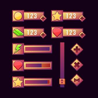 ヴィンテージゲームディスプレイデザイン