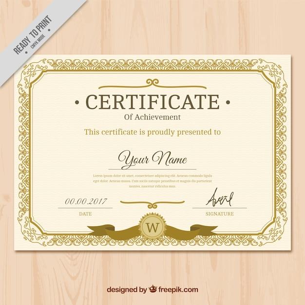 certificate vectors photos and psd files free download rh freepik com vector certificate template free download vector certificate design