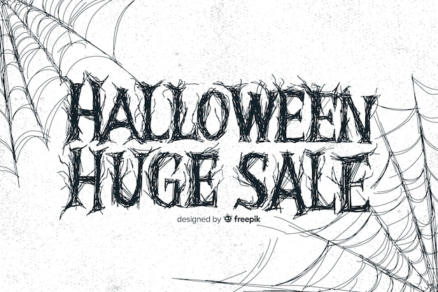 Vintage halloween huge sale with spider web