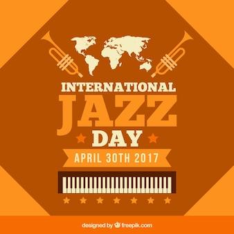 Урожай фон международный джазовый день