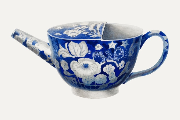Vincent p. rosel의 작품에서 리믹스된 빈티지 유효하지 않은 컵 벡터 일러스트레이션