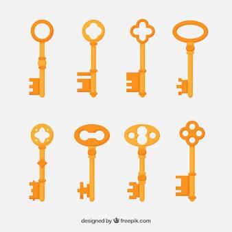 Винтажная коллекция ключей
