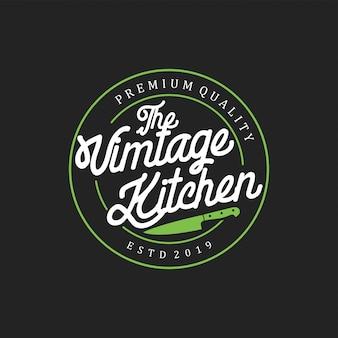 Vintage kitchen badge
