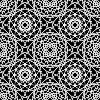 Vintage lace seamless pattern.