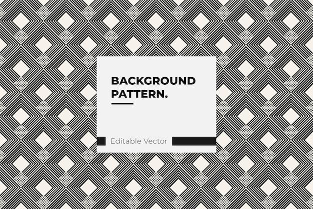 Vintage  line design pattern